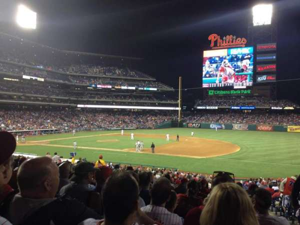 Citizens Bank Park, section: 114, row: 33, seat: 2