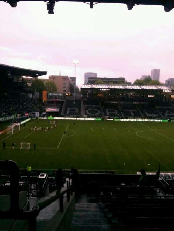 Providence Park, section: 216, row: K, seat: 3