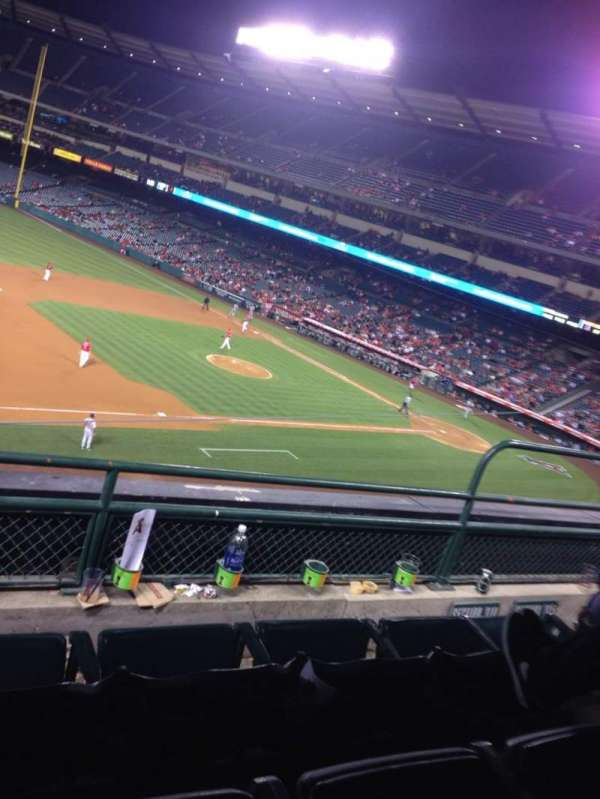 Angel Stadium, section: 314, row: C, seat: 5