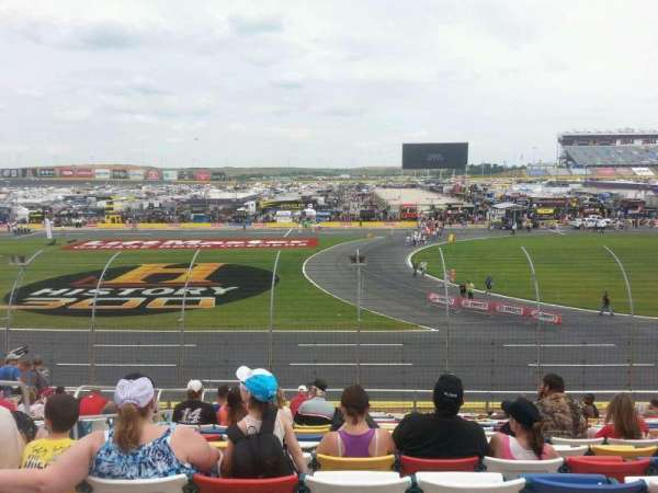 Charlotte Motor Speedway, section: GM H, row: 20, seat: 34