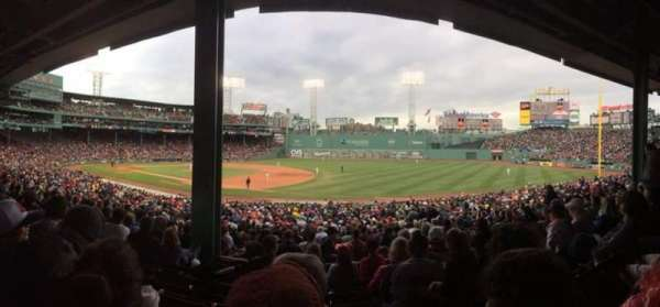Fenway Park, section: Grandstand 12, row: 06, seat: 10