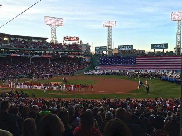 Fenway Park, section: Grandstand 14, row: 06, seat: 06