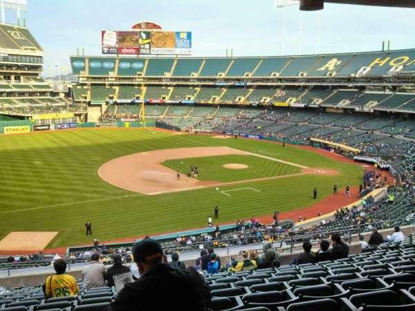 Oakland Coliseum, section: 225, row: 13