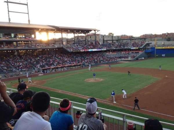 Southwest University Park, section: 204, row: C, seat: 10