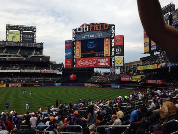 Citi Field, section: 110, row: 13