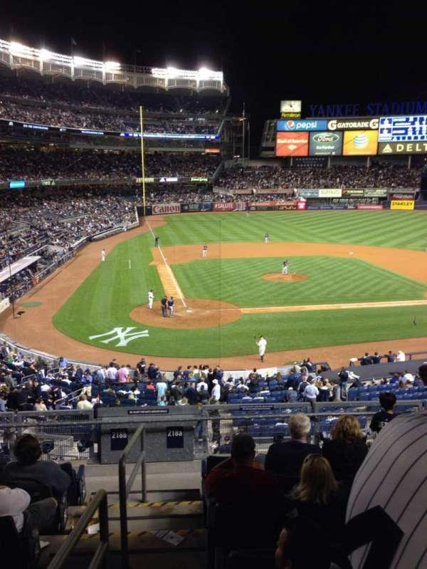 Yankee Stadium, section: 218a, row: 8, seat: 13