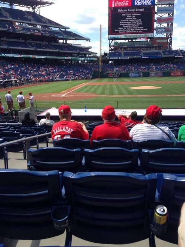 Citizens Bank Park, section: 118, row: 12, seat: 7