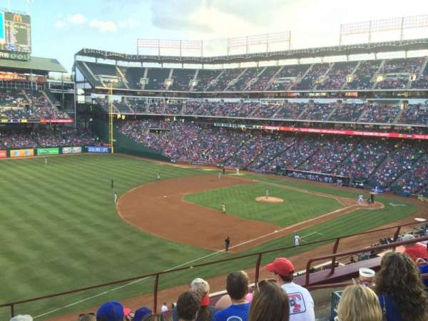 Globe Life Park in Arlington, section: 214, row: 5, seat: 12
