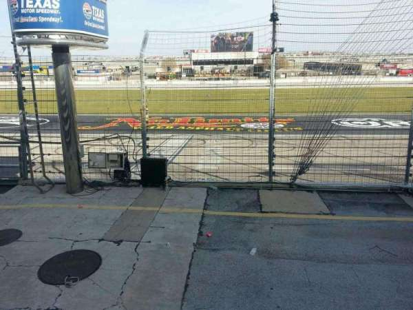 Texas Motor Speedway, section: 101, row: 5, seat: 19
