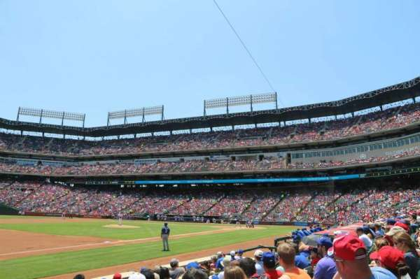 Globe Life Park in Arlington, section: 16, row: 6, seat: 17