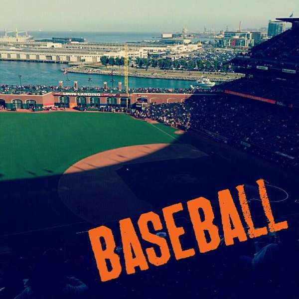 Oracle Park, section: VR325, row: 15, seat: 15,16,17