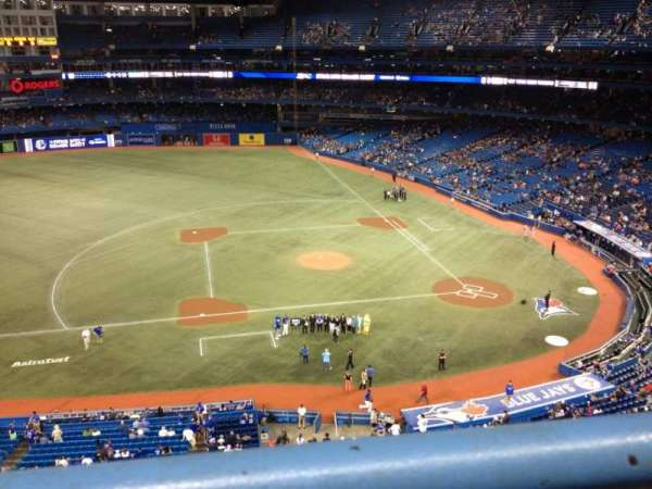 Rogers Centre, section: 530R, row: 1, seat: 2