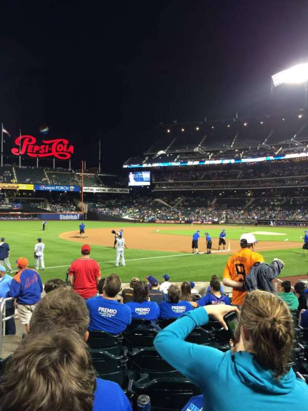 Citi Field, section: 125, row: 8, seat: 16
