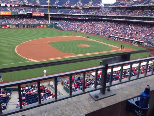 Citizens Bank Park, section: 230, row: 1, seat: 22