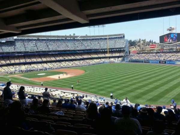 Dodger Stadium, section: 160LG, row: T, seat: 14