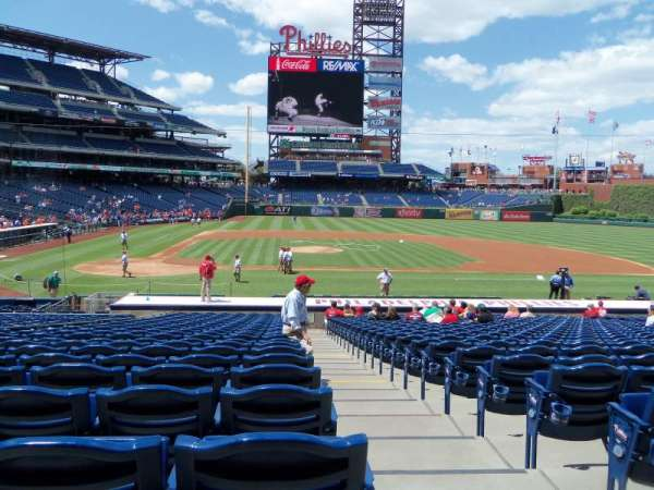 Citizens Bank Park, section: 118, row: 24, seat: 1