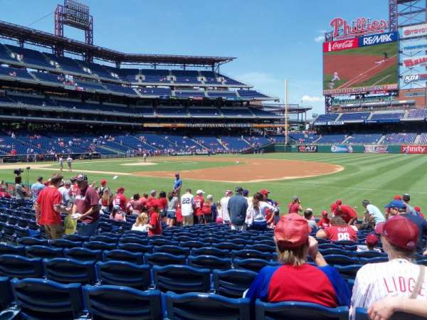 Citizens Bank Park, section: 113, row: 15, seat: 7