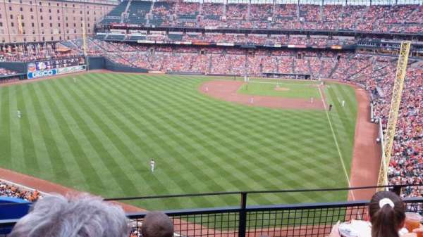 Oriole Park at Camden Yards, section: 380, row: 3, seat: 19