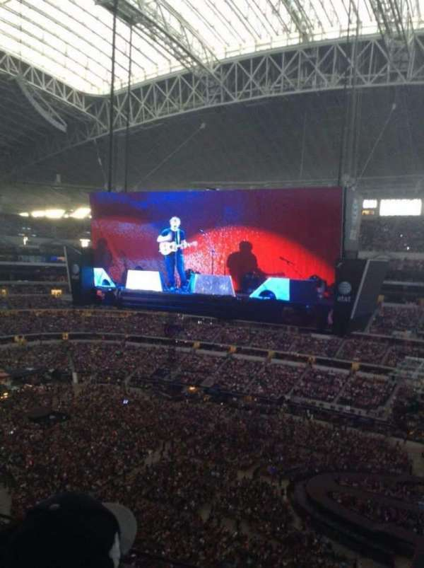 AT&T Stadium, section: 409, row: 3 , seat: 4