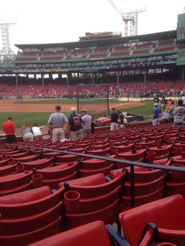 Fenway Park, section: Field Box 79, row: L, seat: 3