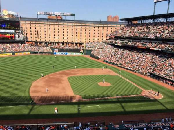 Oriole Park at Camden Yards, section: 55, row: 1, seat: 4
