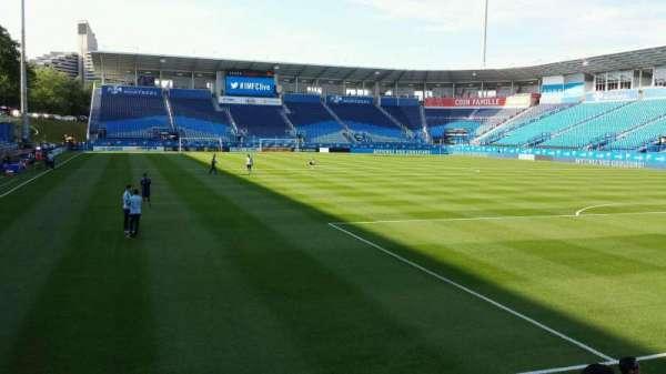 Saputo Stadium, section: 134, row: E, seat: 17