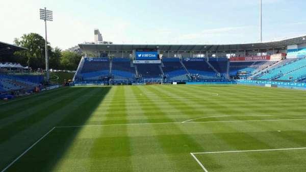 Saputo Stadium, section: 133, row: K, seat: 13