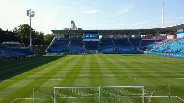 Saputo Stadium, section: 132, row: M