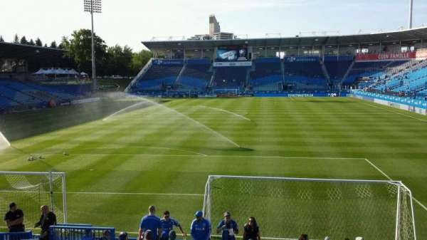 Saputo Stadium, section: 131, row: O, seat: 13