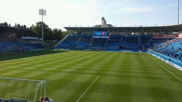 Saputo Stadium, section: 130, row: O, seat: 15