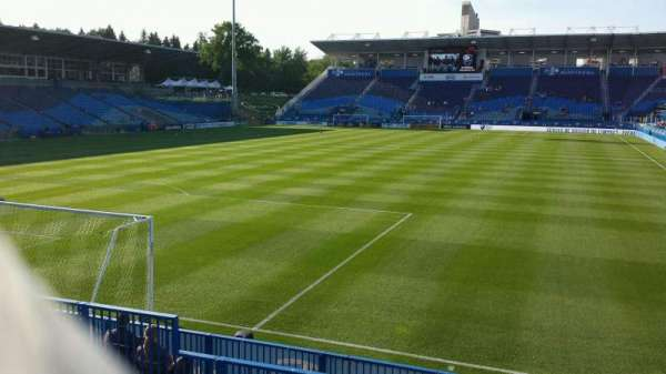 Saputo Stadium, section: 130, row: K, seat: 13