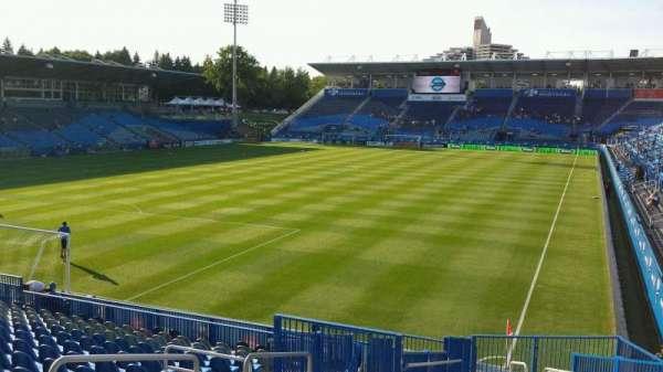 Saputo Stadium, section: 129, row: S, seat: 6