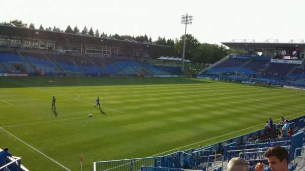 Saputo Stadium, section: 128, row: S, seat: 11