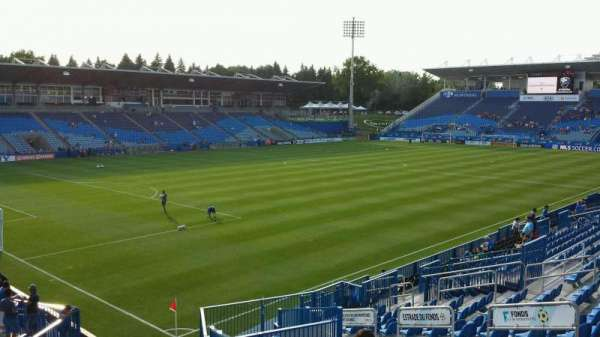 Saputo Stadium, section: 128, row: V, seat: 13
