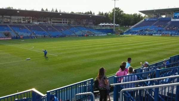 Saputo Stadium, section: 127, row: J, seat: 5