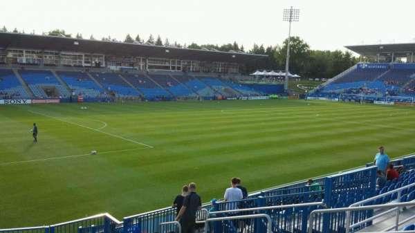 Saputo Stadium, section: 127, row: O, seat: 9