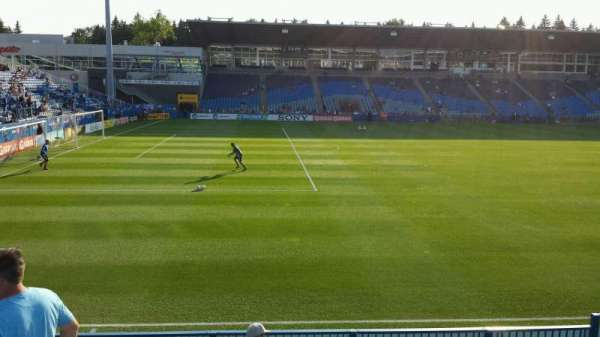 Saputo Stadium, section: 126, row: J, seat: 10