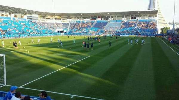 Saputo Stadium, section: 112, row: G, seat: 7