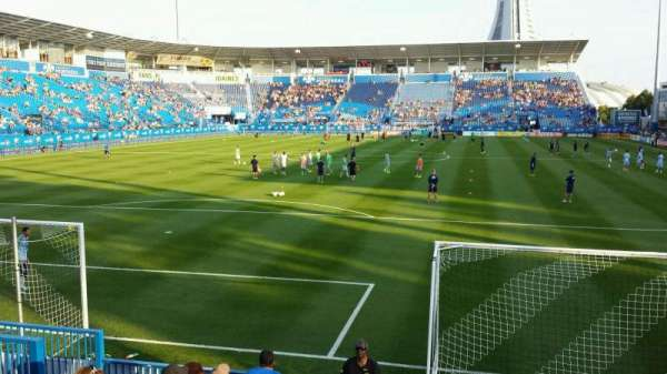 Saputo Stadium, section: 113, row: J, seat: 13