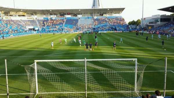 Saputo Stadium, section: 114, row: J, seat: 15