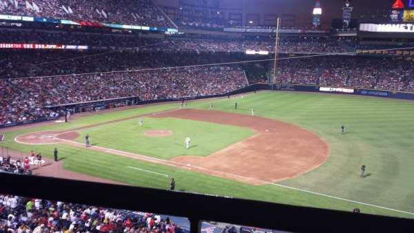 Turner Field, section: 315, row: 1, seat: 12