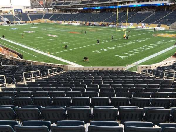 Investors Group Field, section: 144, row: 25, seat: 7