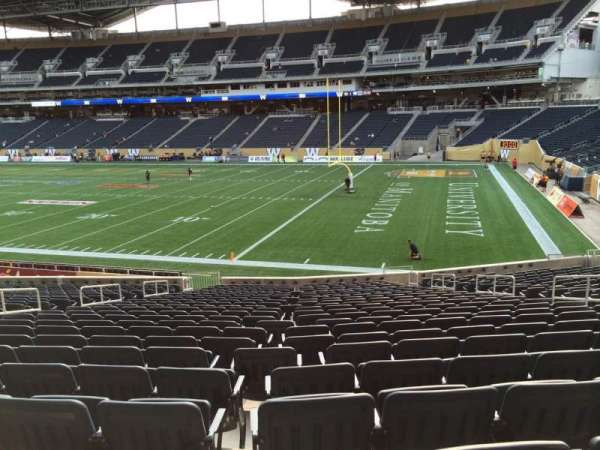 Investors Group Field, section: 102, row: 24, seat: 10
