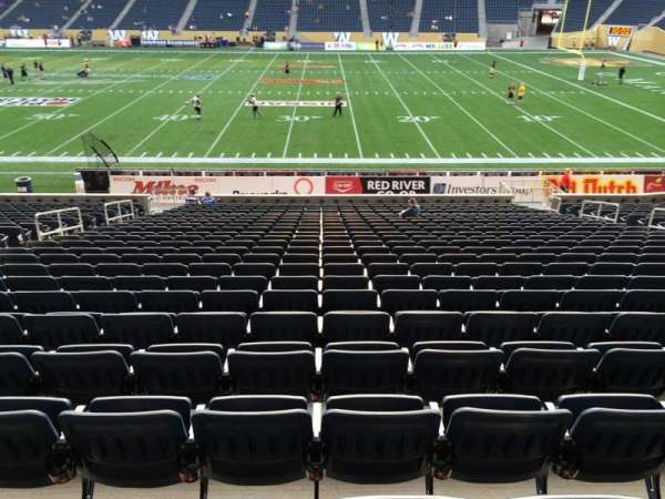 Investors Group Field, section: 105, row: 24, seat: 15