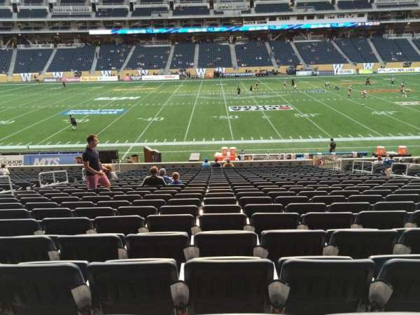 IG Field, section: 108, row: 24, seat: 10