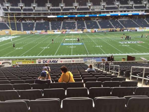 IG Field, section: 110, row:  24, seat: 4