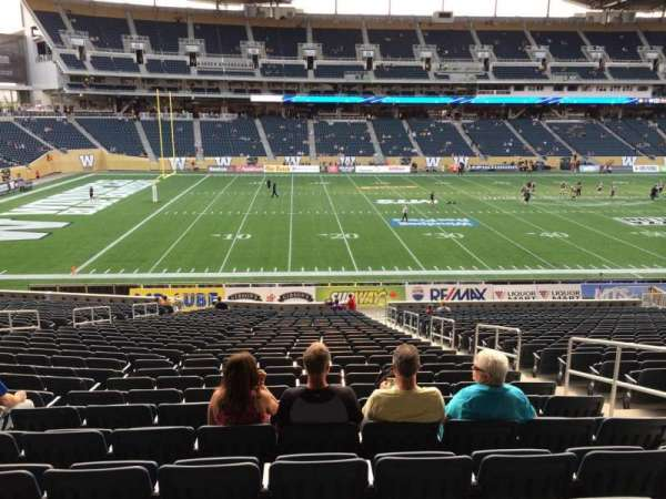 IG Field, section: 111, row:  28, seat: 5