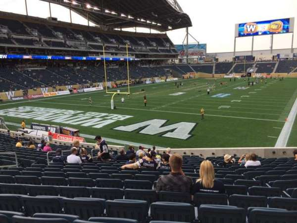 IG Field, section: 116, row: 22, seat: 18