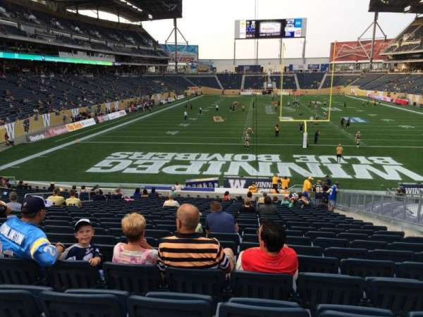 IG Field, section: 119, row: 24, seat: 10