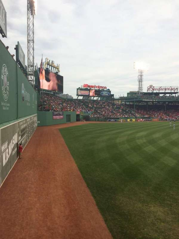 Fenway Park, section: Loge box 165, row: PP, seat: 12